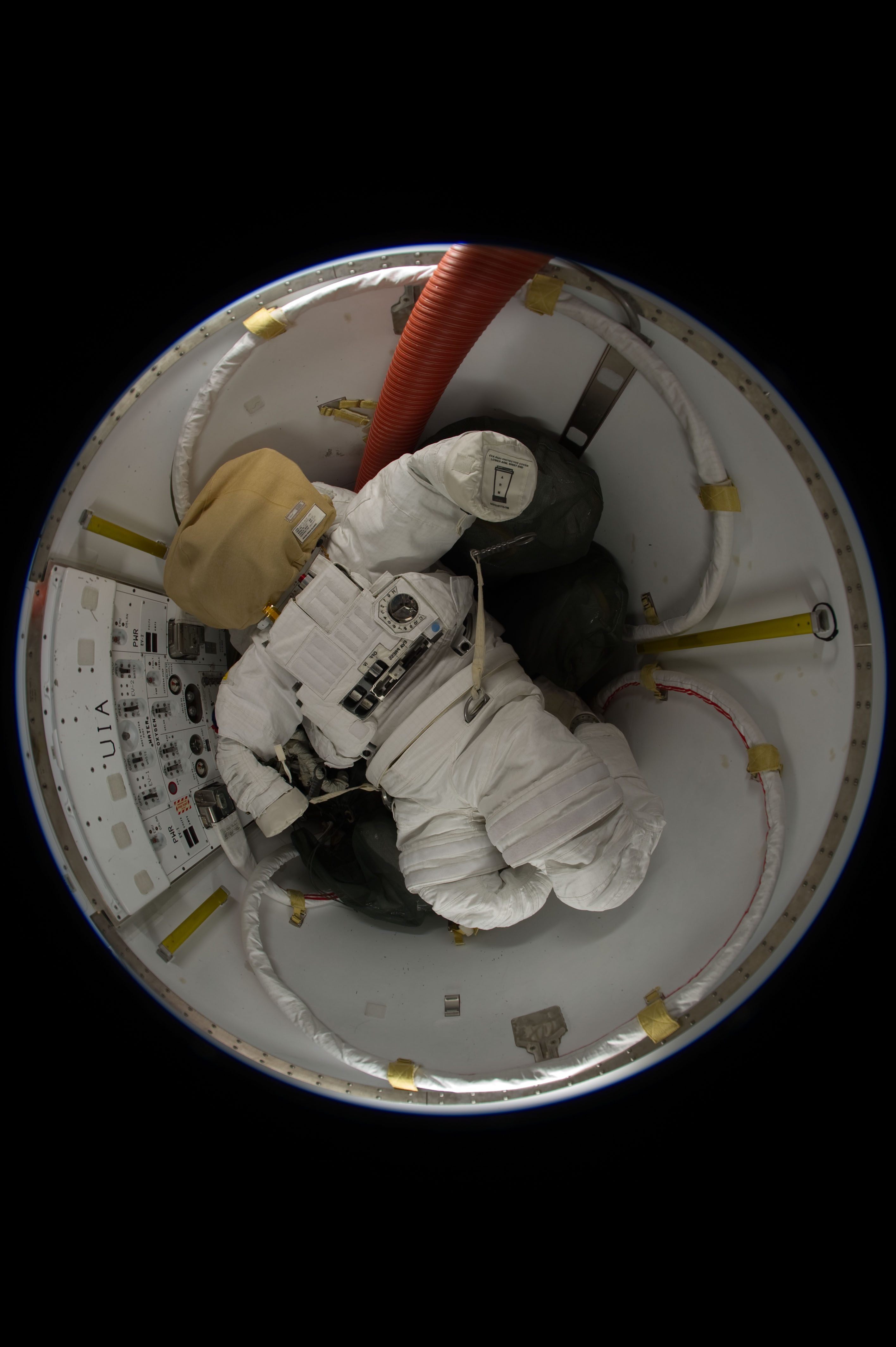 Expedition 31 Spacesuit