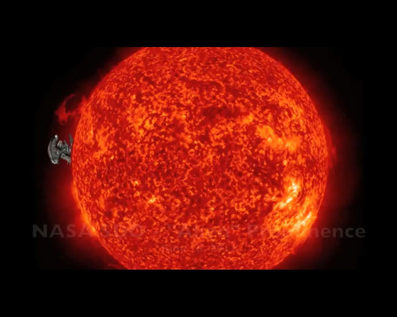 NASA Spacecraft Spies 'Alien' Prominence on the Sun