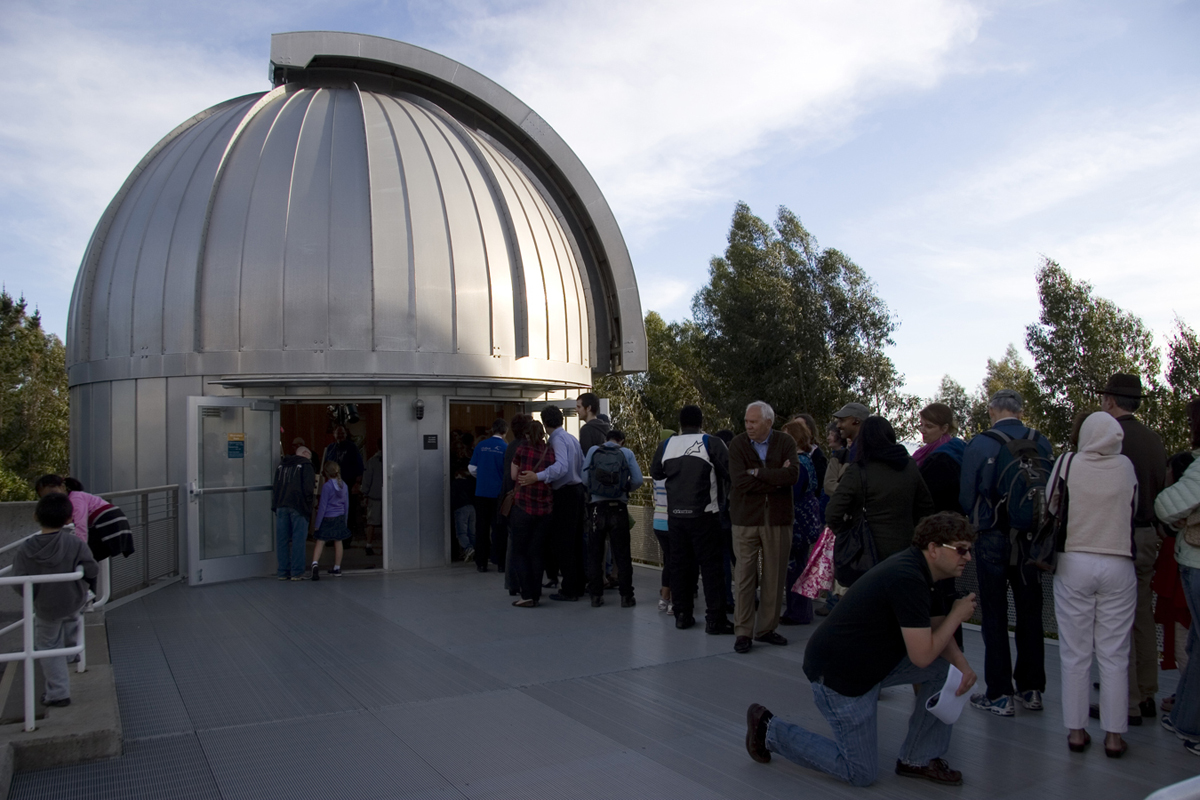 Venus Transit 2012 Viewing at Chabot Space & Science Center