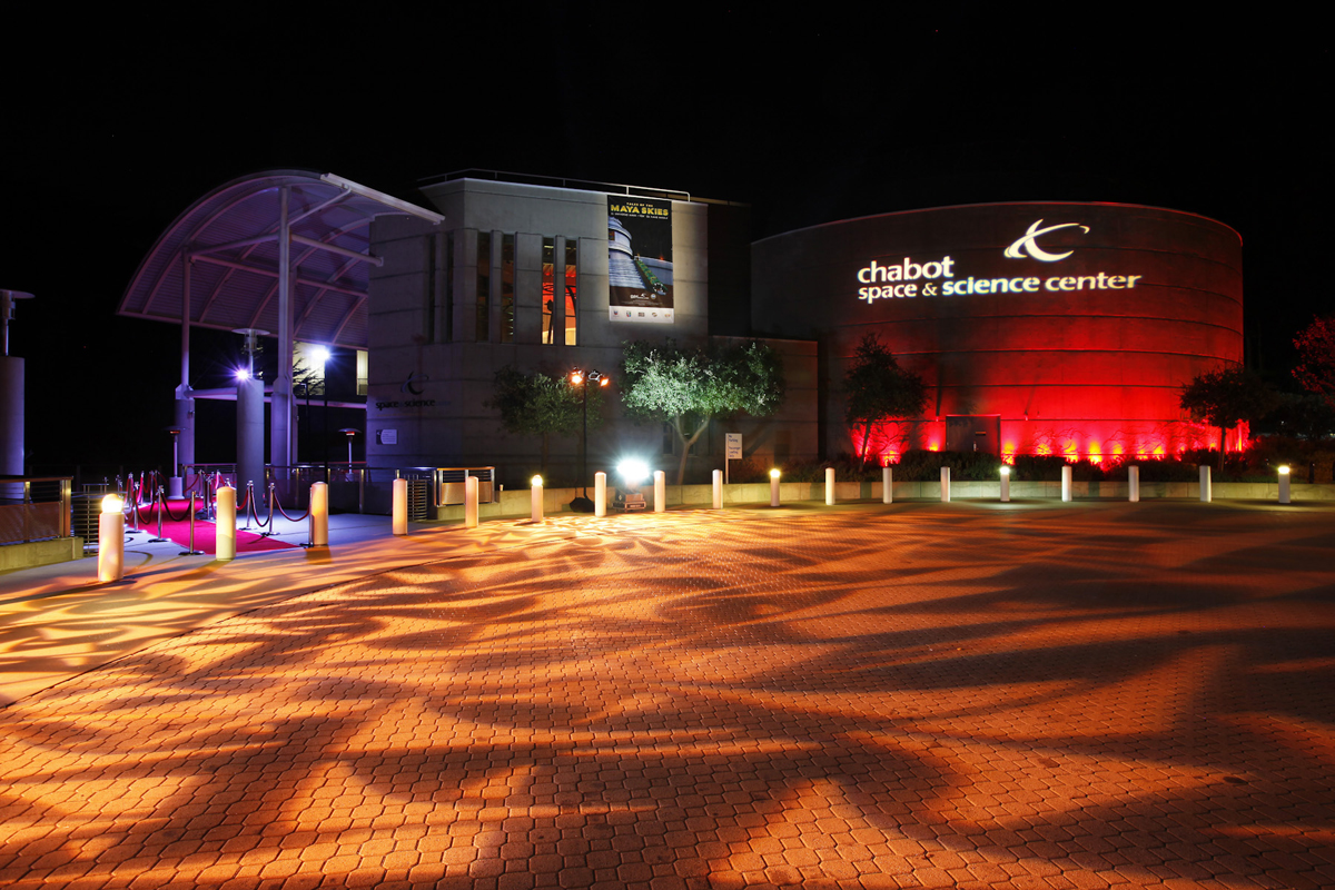 Chabot Space & Science Center Lit for a Party