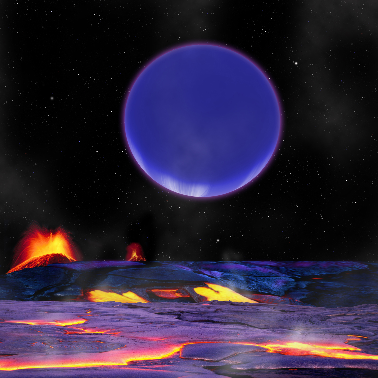 Odd Alien Planets So Close Together They See 'Planetrise'