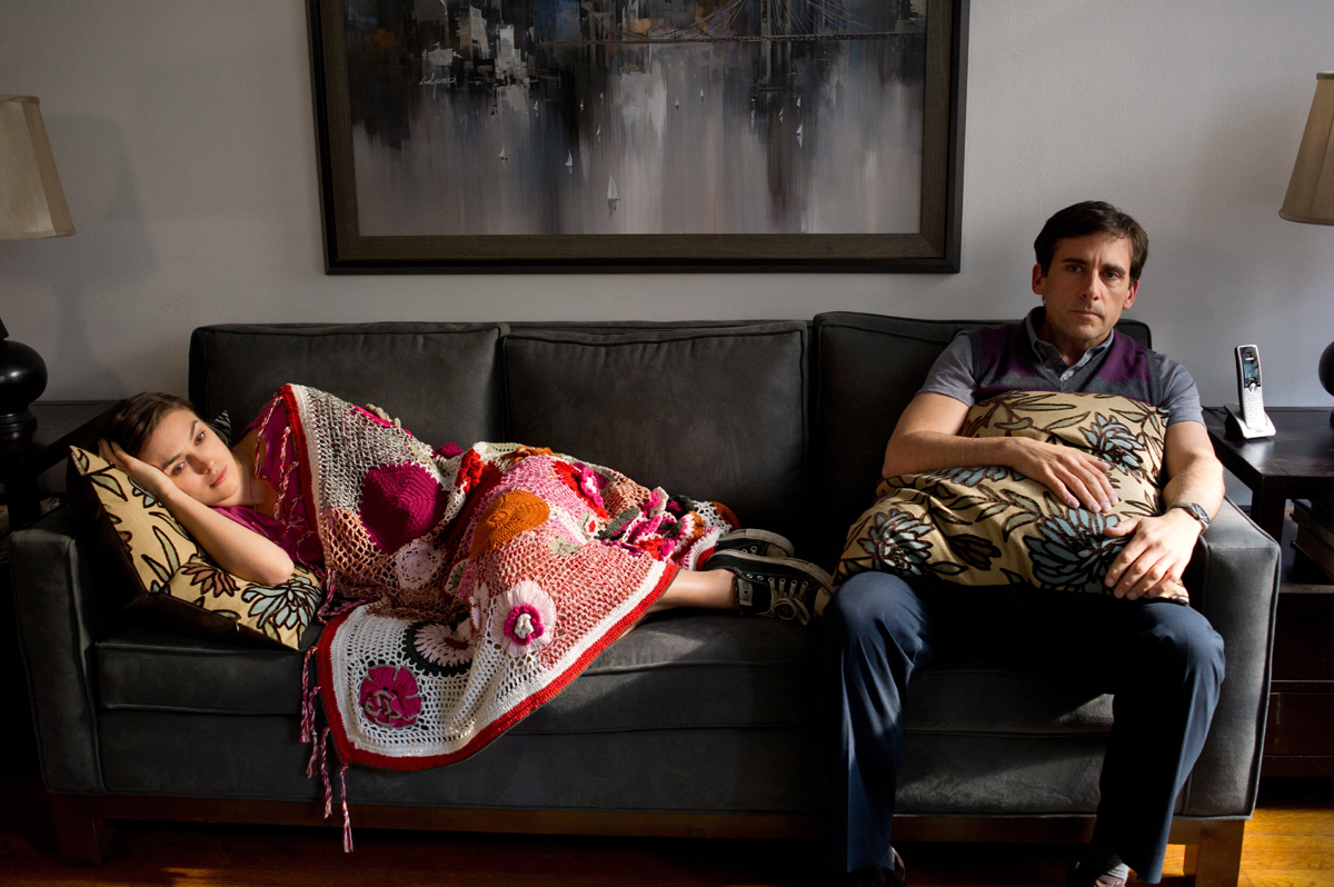 Keira Knightley & Steve Carell