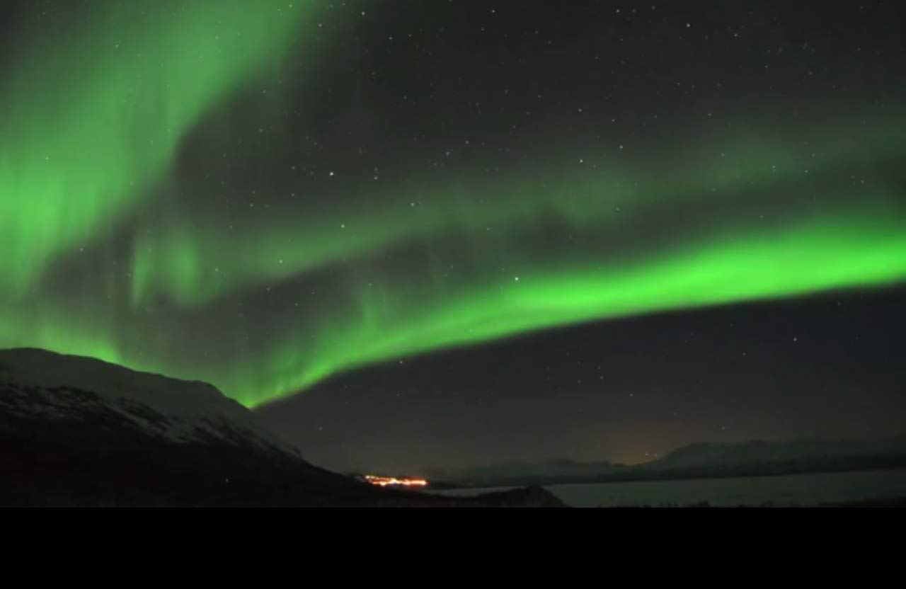 Northern Lights Dance Across Sweden Night Sky in Amazing Video