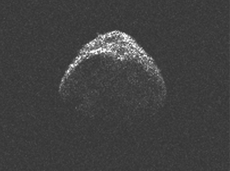 Surprise! Big Asteroid That Flew by Earth Larger Than Thought