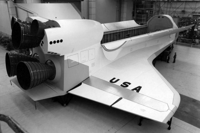 Original 1972 Space Shuttle Mockup Going on Display