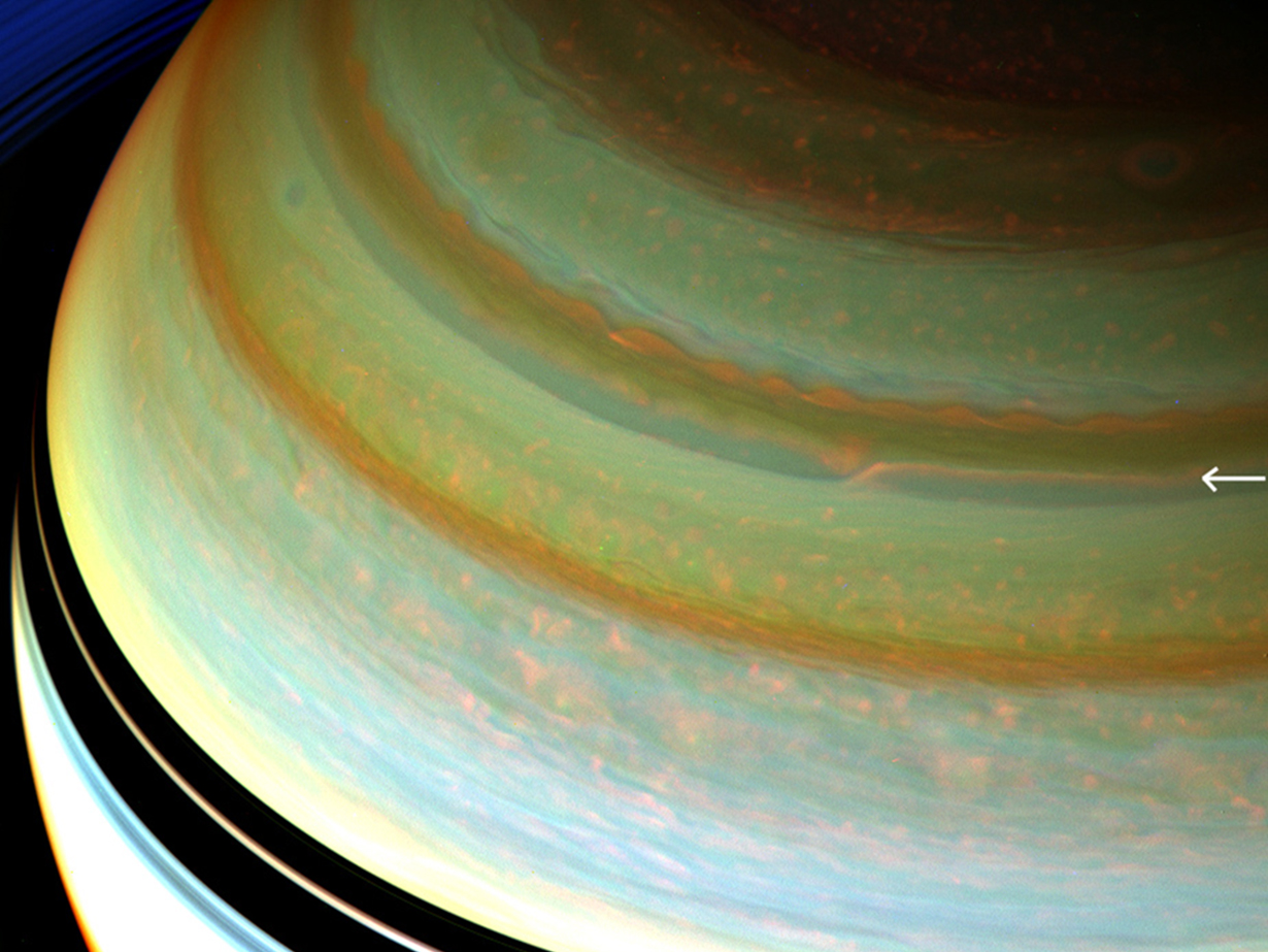Saturn's Jet Streams Powered by Internal Heat