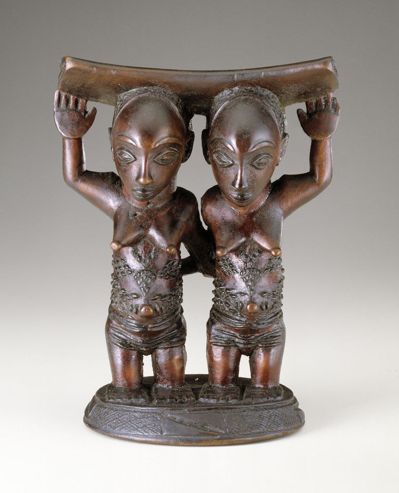 Headrest, Luba Peoples, Congo