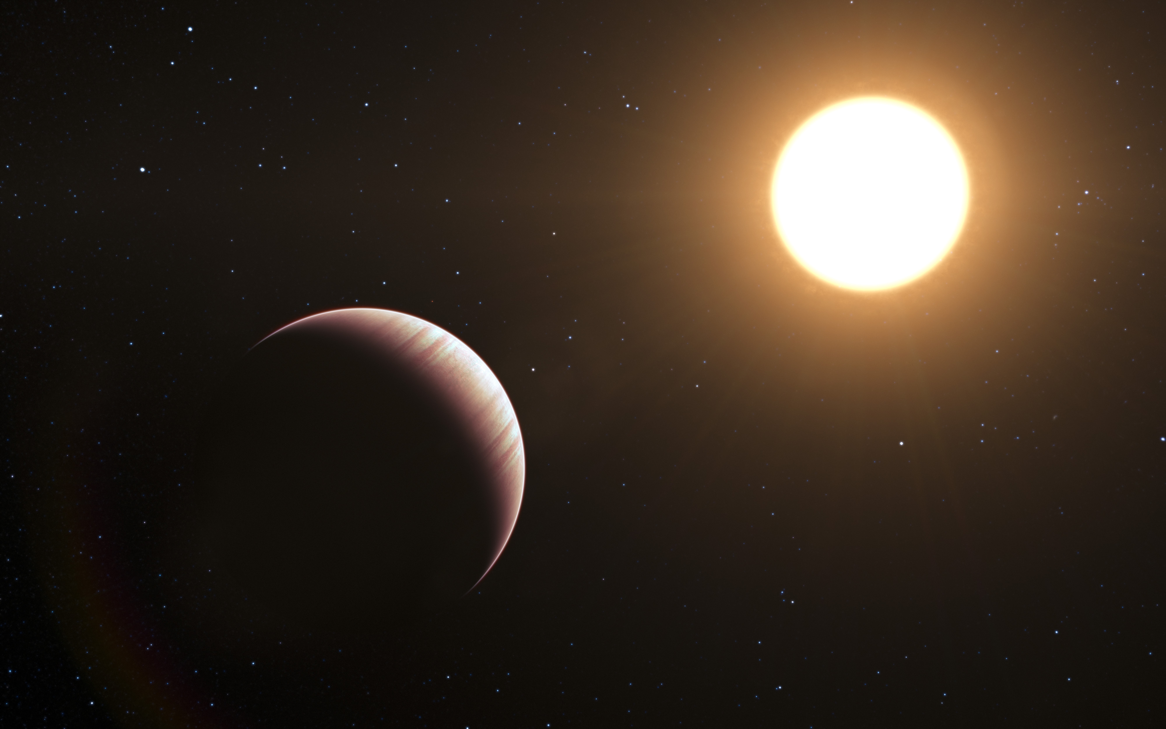 'Hot Jupiter' Planet's Atmosphere Revealed by New Method