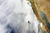 A wider view of the glory over the Pacific, west of Mexico's Baja peninsula, taken by NASA's Aqua satellite on June 20, 2012.