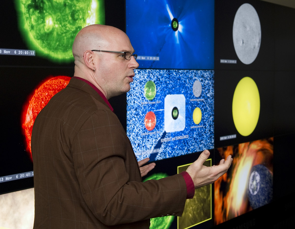 NASA's Space Weather Wall
