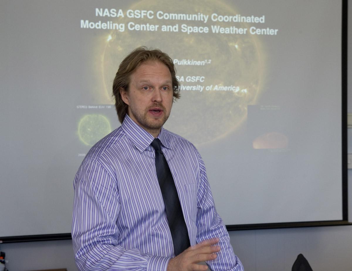 Heliophysics at NASA's Goddard