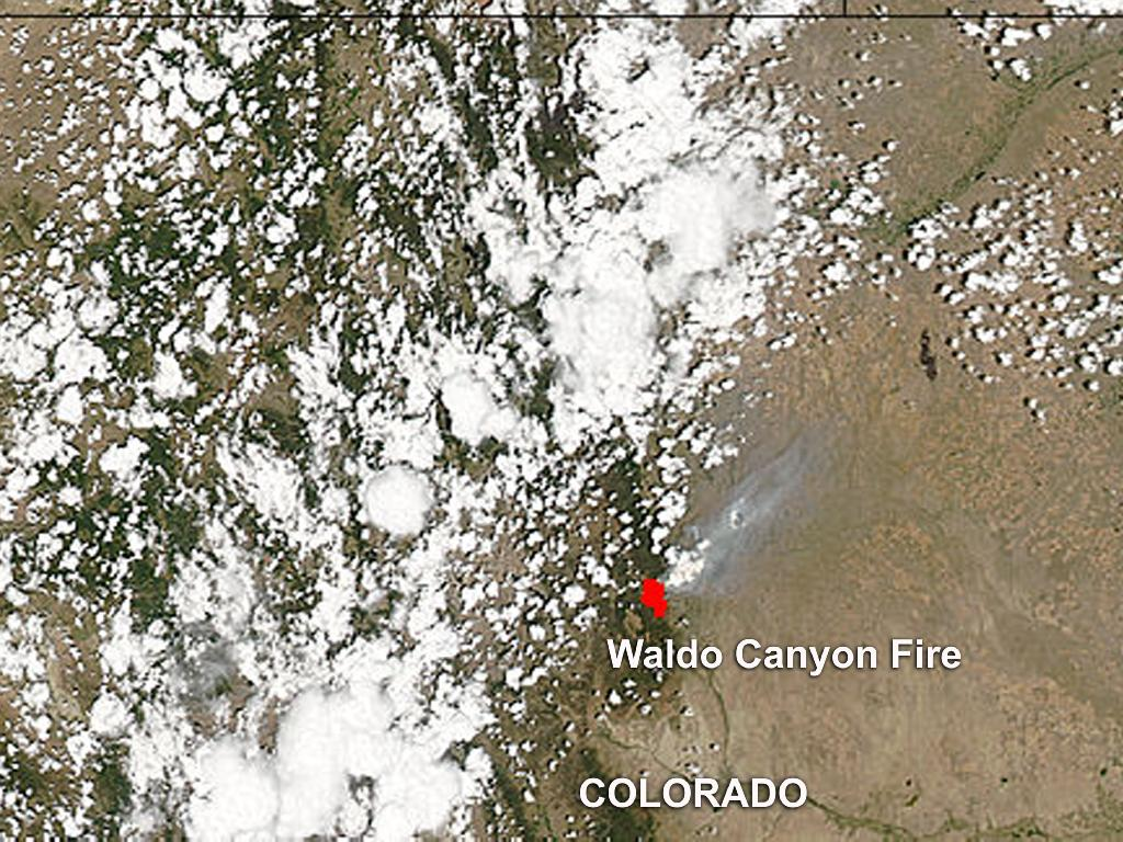 Waldo Canyon Fire, Colorado