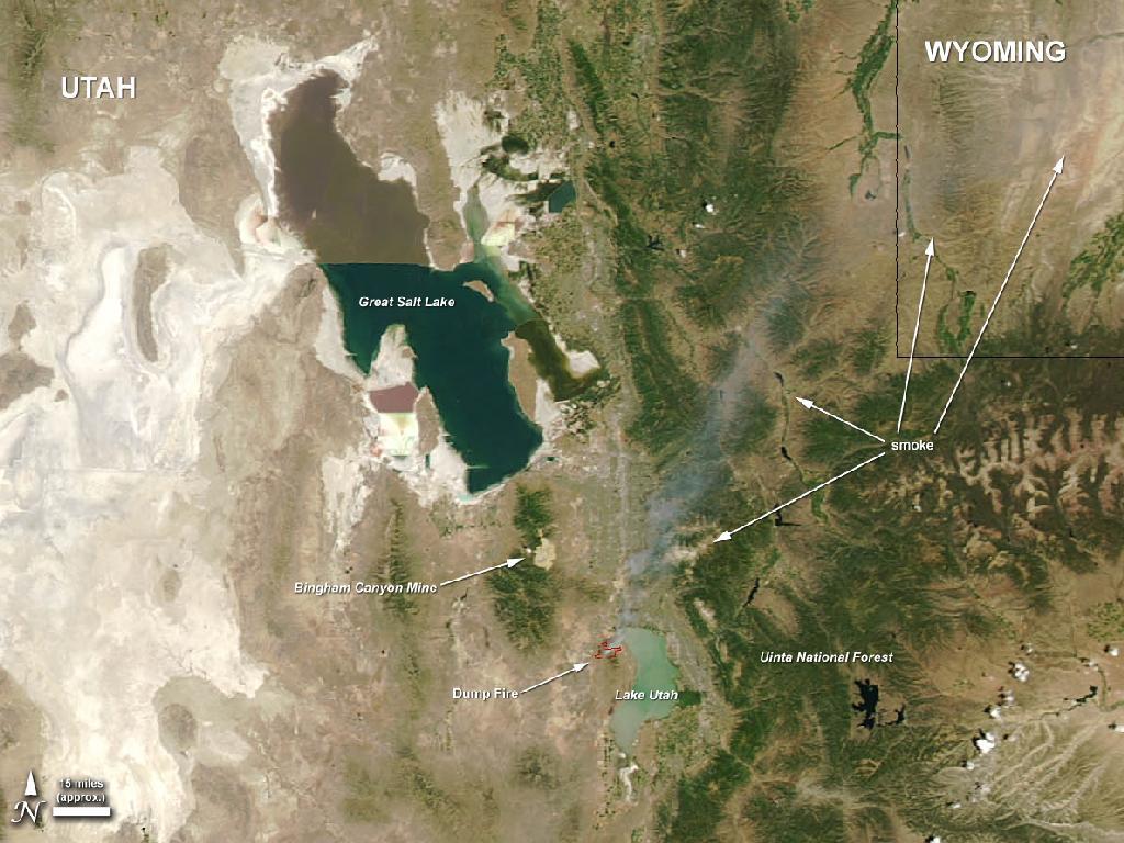 Utah's Dump Fire