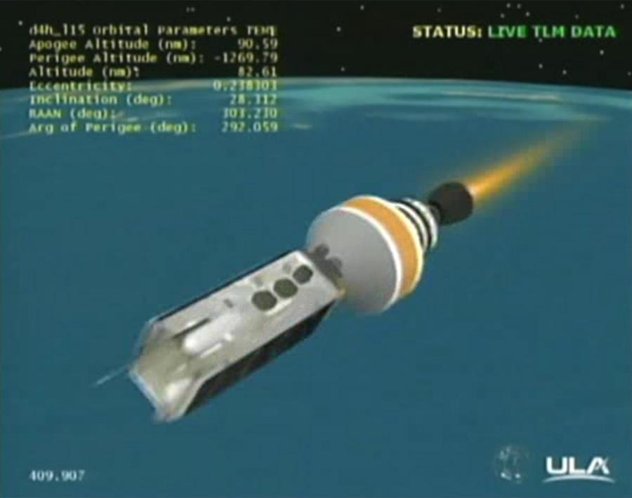 Spy Satellite Launch