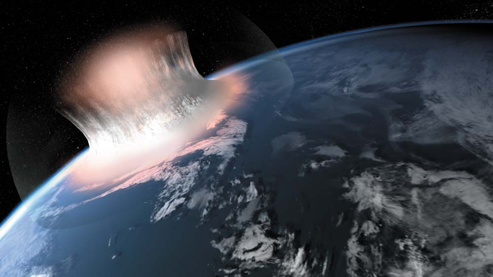 Oldest Impact Crater Found