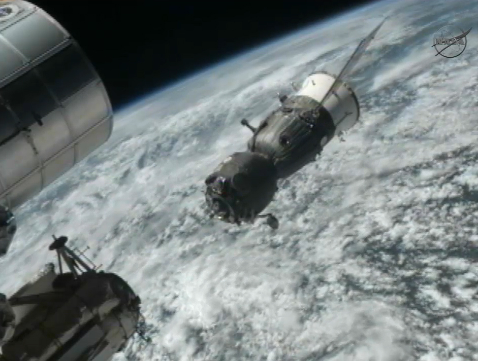 Space Station Astronauts Headed Home to Earth