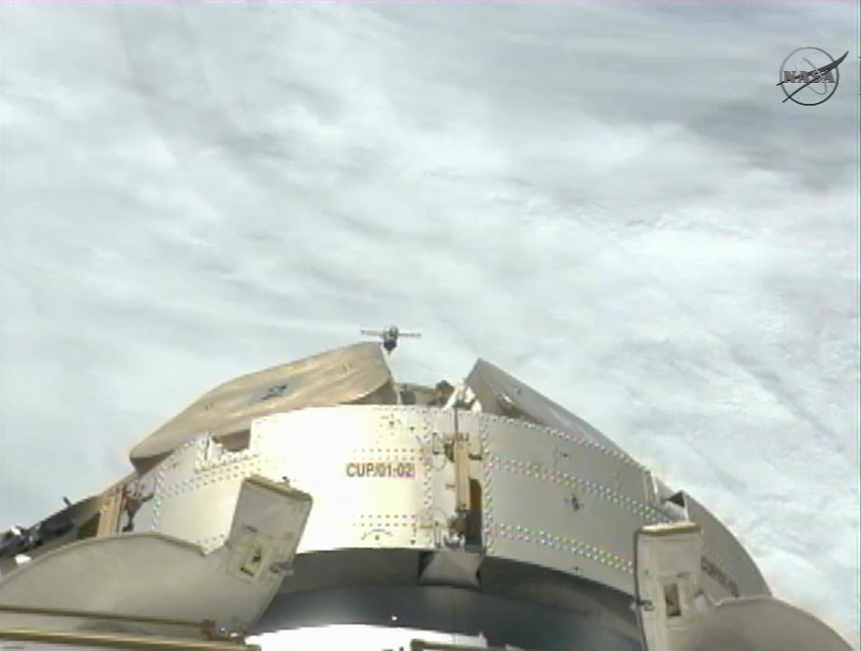 Expedition 31: Soyuz Crew Leaves Space Station