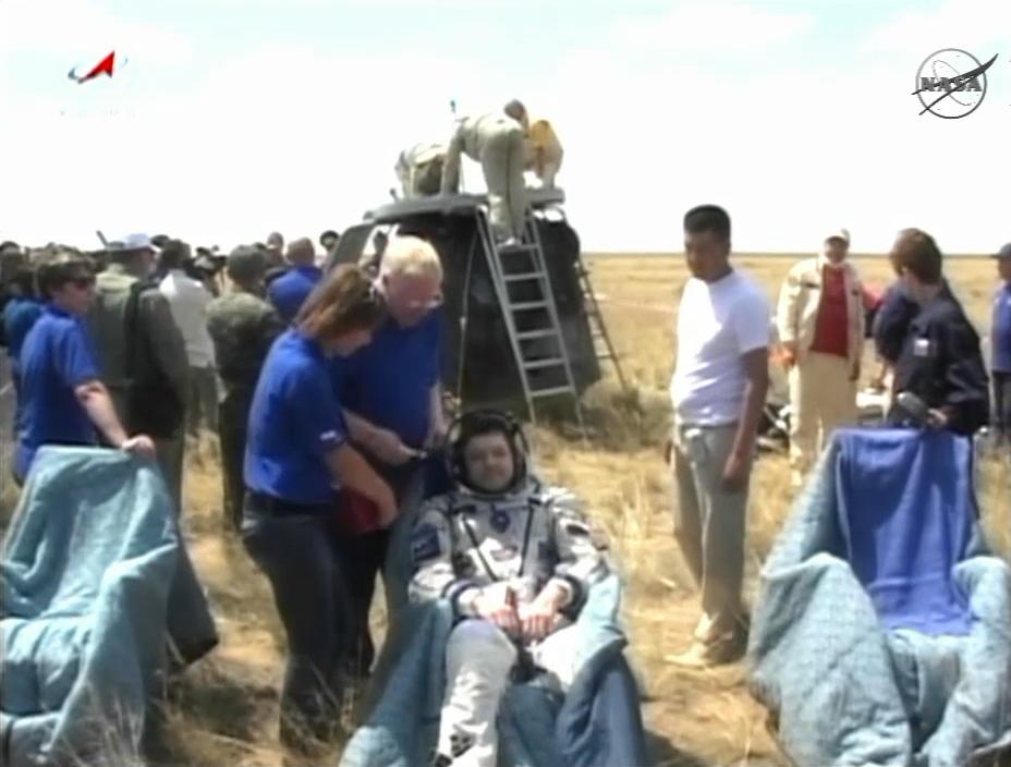 Soyuz Landing: A Commander Reflects