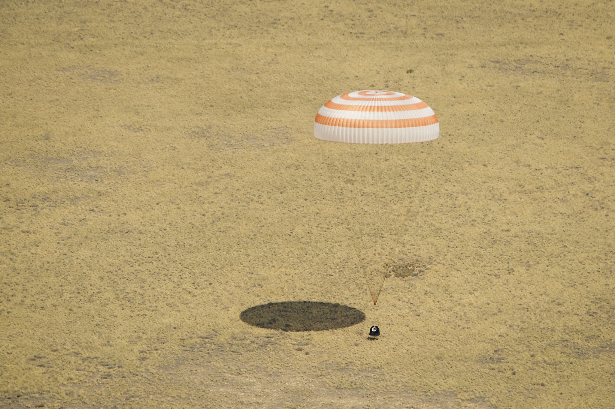 Expedition 31: Seconds Before Landing