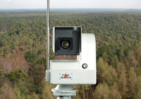 FireWatch technology is based on German space sensor know-how.