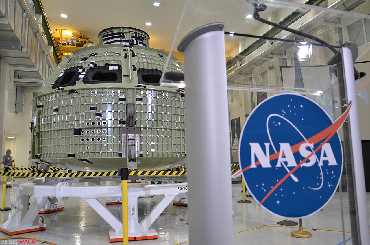 NASA Unveils Orion Space Capsule for 2014 Test Launch