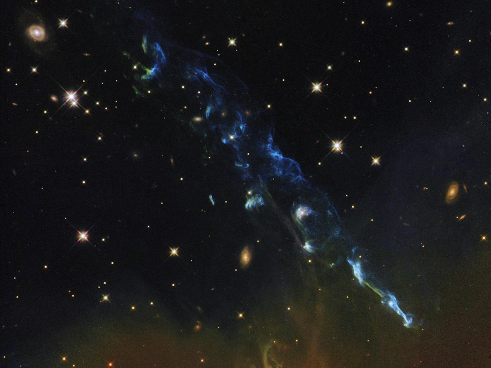 Cosmic Calendar Wallpaper : Nasa s hubble views a cosmic skyrocket space wallpaper
