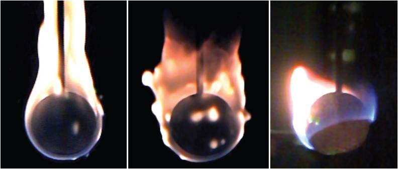 Fire in Space Experiment: ISS