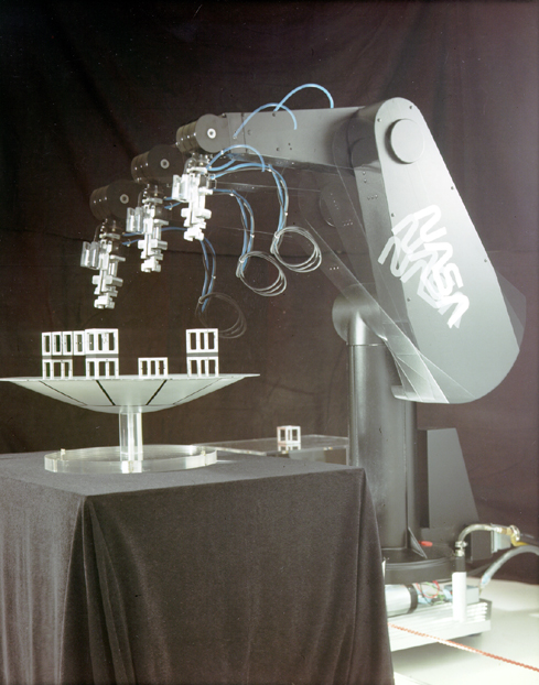 Space History Photo: Puma Robotic Arm