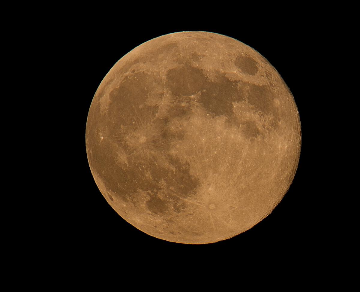 Moon from Milwaukee