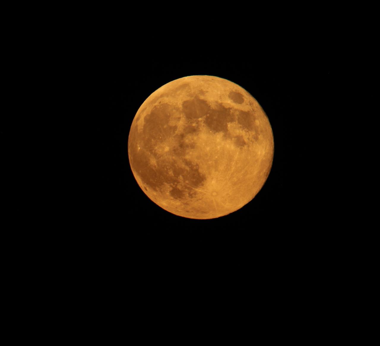 Moon over Milwaukee
