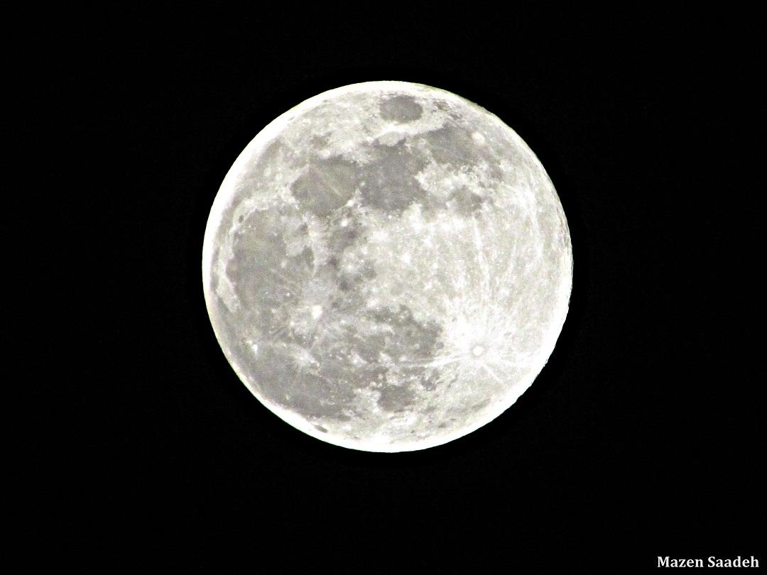 July Full Moon over Lebanon