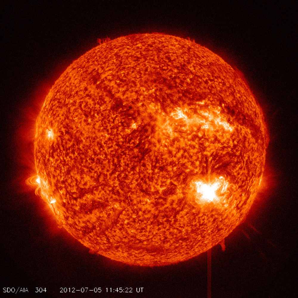 Solar Flare Photos: Sun Storms Erupt From Sunspot AR1515