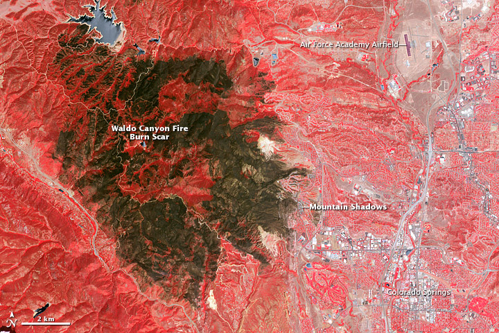 Colorado's Waldo Canyon fire