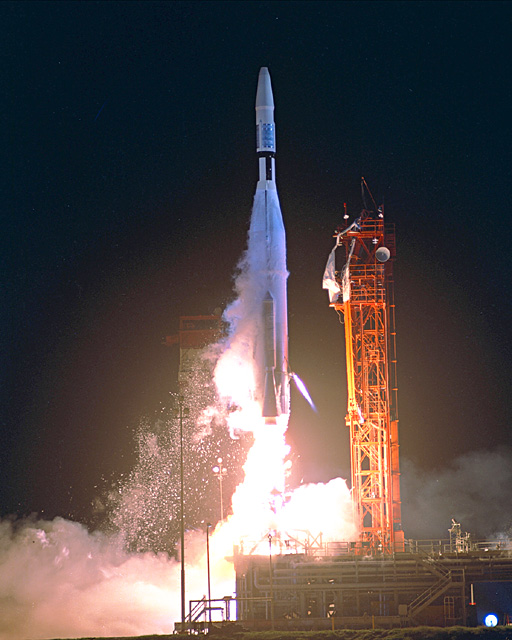 Space History Photo: Mariner 1 Launch
