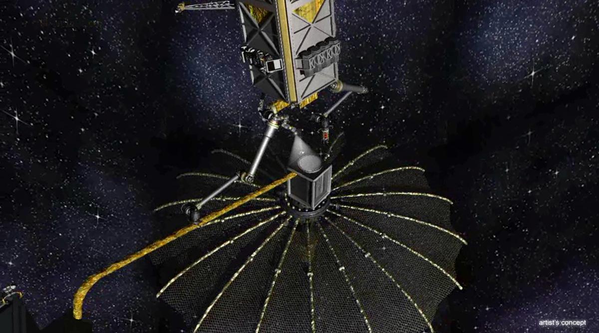 DARPA Phoenix Satellite Tender Services Nonworking Satellite
