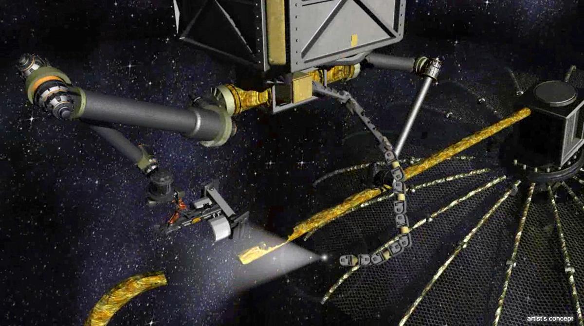 DARPA's Proposed Phoenix Satellite Tender at Work