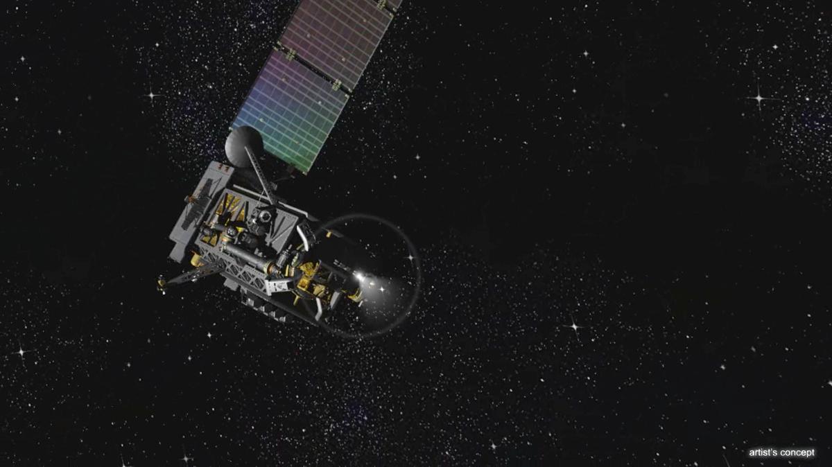 DARPA's Proposed Phoenix Program Spacecraft