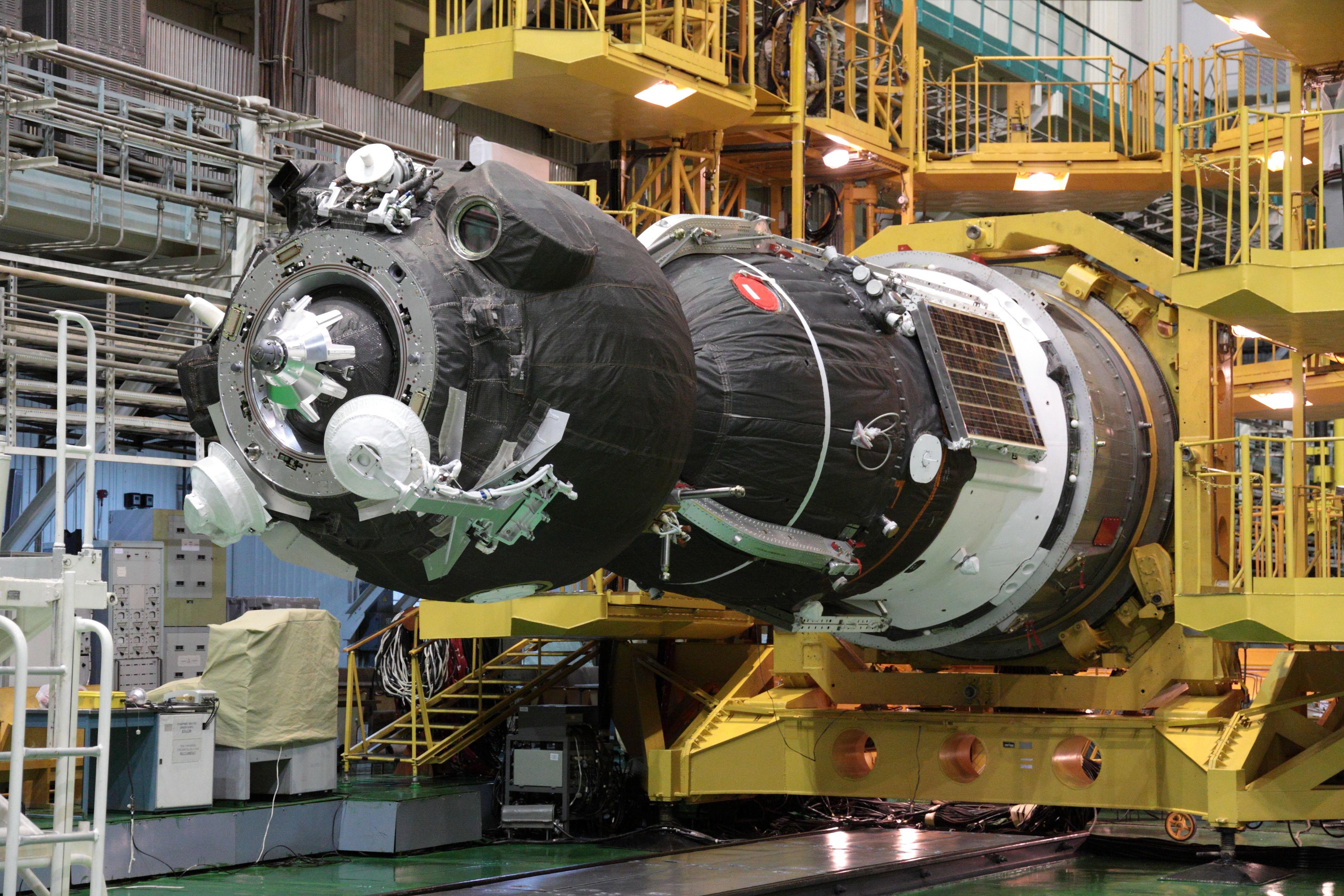 Soyuz is Readied