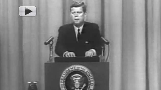 JFK Speaks - Early Transatlantic Television Signals | Video Flashback