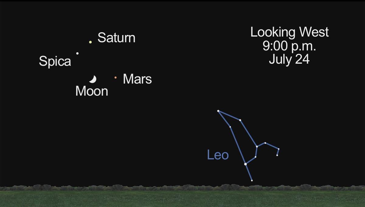 Watch the Moon Pass Mars in Night Sky Tonight