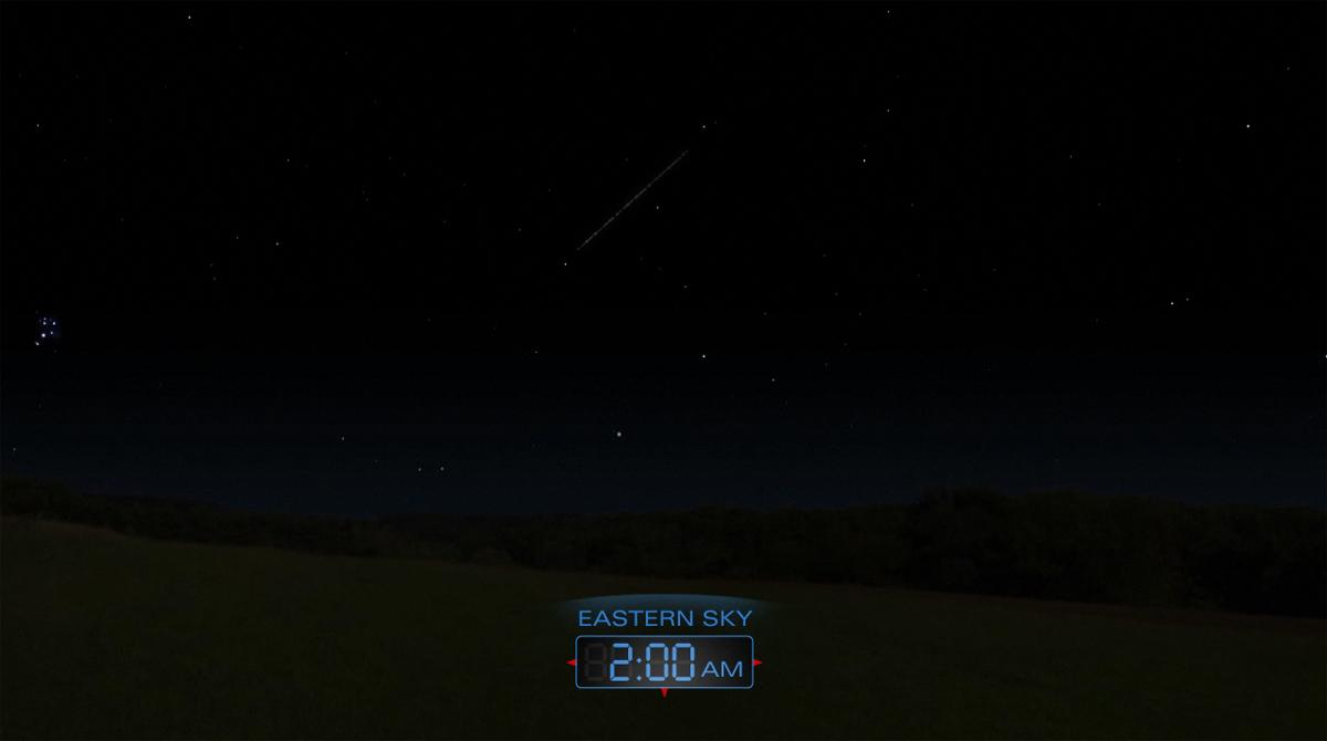2012 Delta Aquarid Meteor Shower