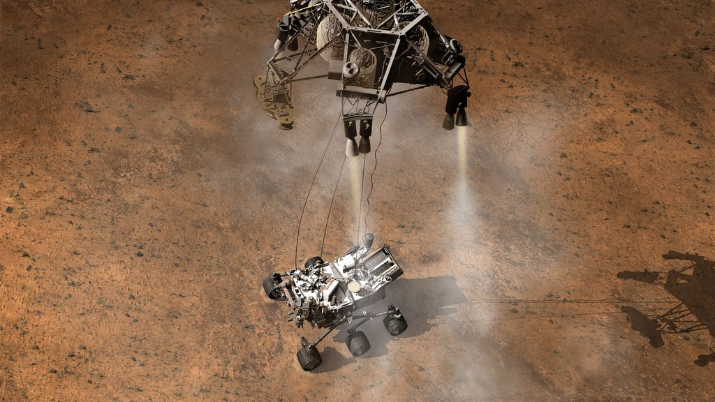 NASA to Broadcast Mars Rover Landing From NYC's Times Square Sunday Night
