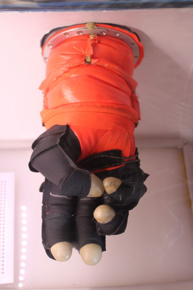 Final Frontier Design Spacesuit Glove Test