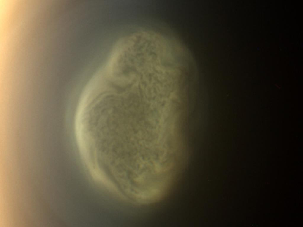 Strange Vortex Discovered on Saturn Moon Titan