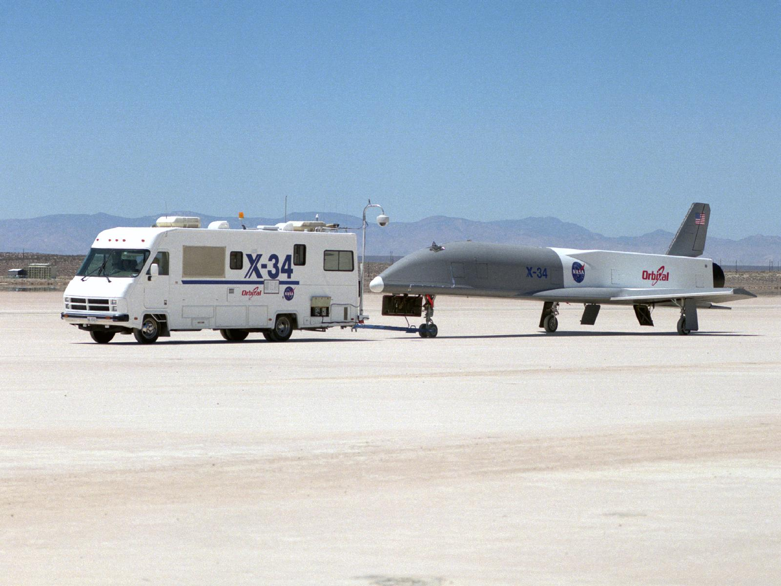 X-34 Technology Testbed Demonstrator
