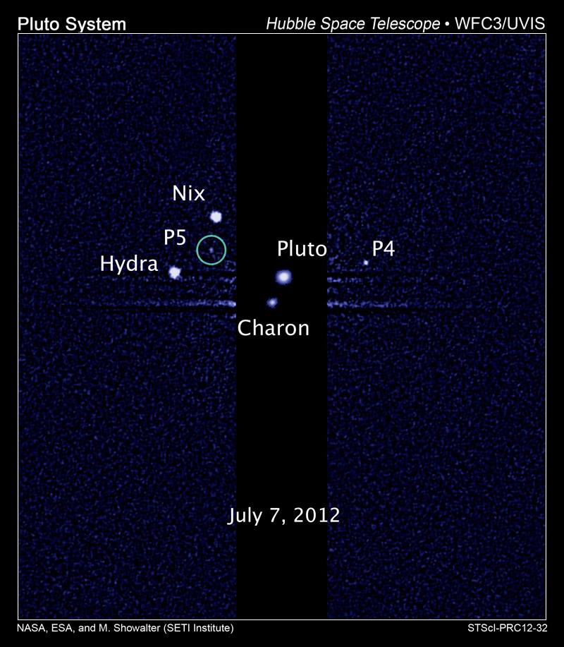 Tiny Pluto Moons Should Be Named Vulcan and Cerberus, Discoverers Say