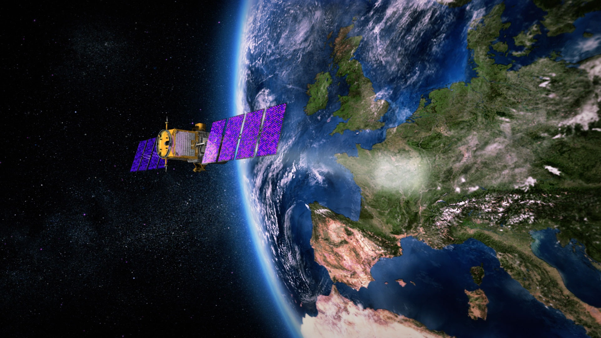 Satellite Released from LauncherOne