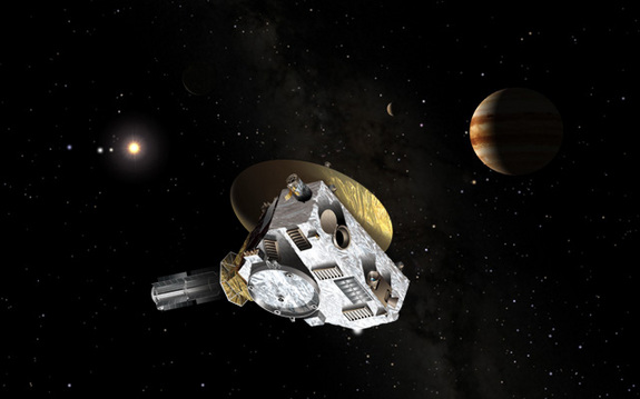 NASA's Speediest Probe Gains on Far-Out Pluto