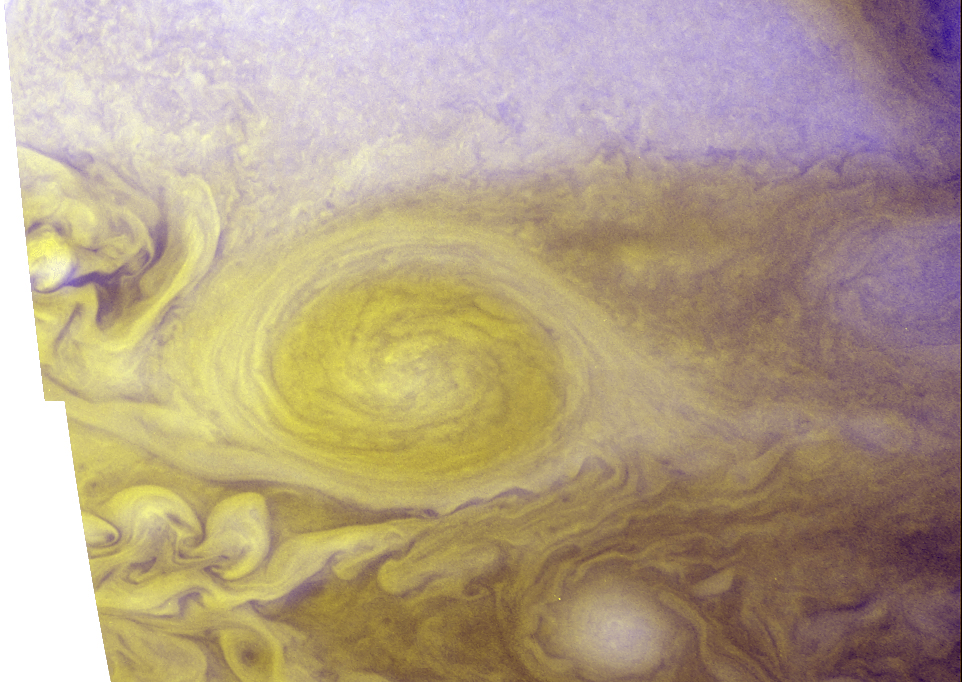 Best Color Image of Jupiter's Little Red Spot