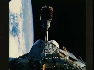 Deployment of the Telstar Communications Satellite